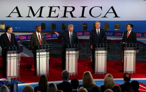 Republican candidates clash for third debate, though not with each other