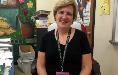 Mrs. DeRienzo says 'adios' to MHS