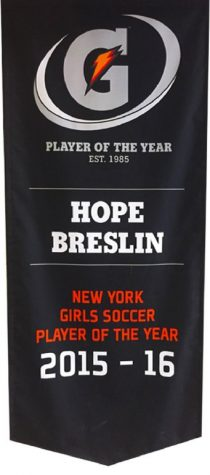 An interview with Gatorade player of the year, Hope Breslin