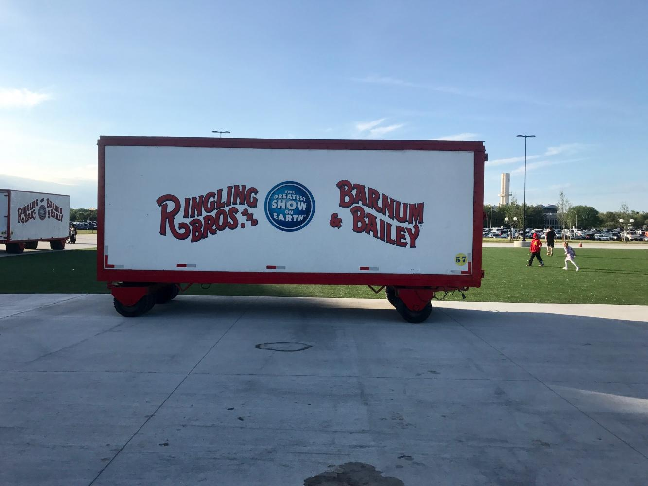 The greatest show on earth no longer: Ringling Brothers/Barnum & Bailey close production.
