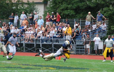 MHS Varsity Football team gains momentum in Homecoming win over Baldwin