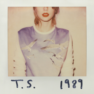 The album art for Taylor Swift's new album, '1989.' (Source: Taylor Swift)