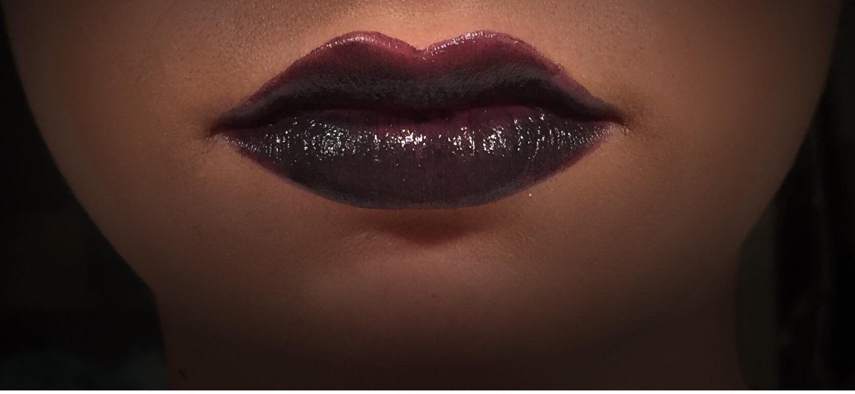 During the fall and winter time, dark lips start to reach their peak.