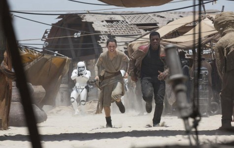 Star Wars: The Force Awakens shatters box office sales.