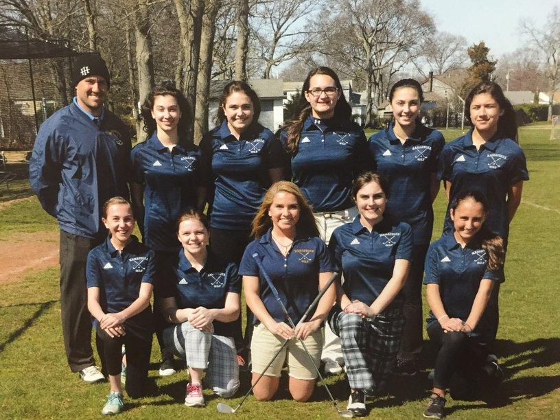 It's tee time!  MHS girls golf team finishes off the season undefeated.