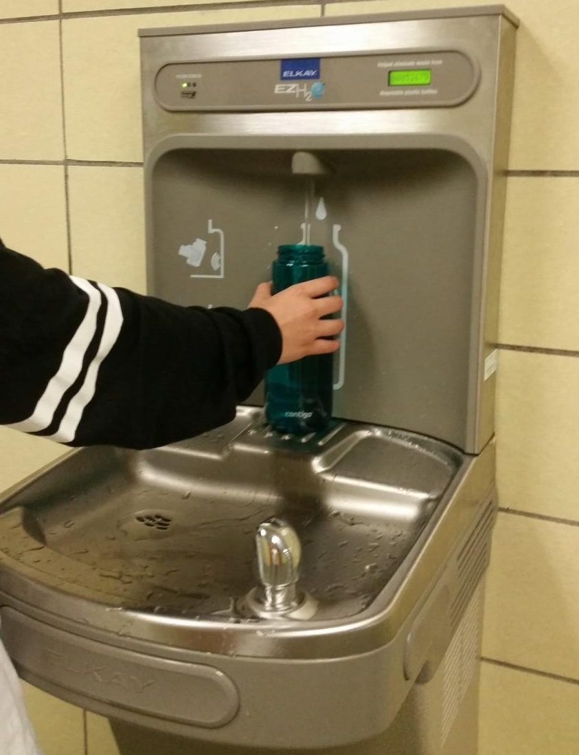 Hydrating cleanly: MHS installs new safe water fountains