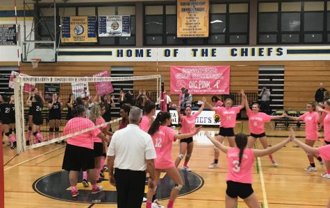 Dig Pink, MHS Girls Volleyball Plays for a Cure