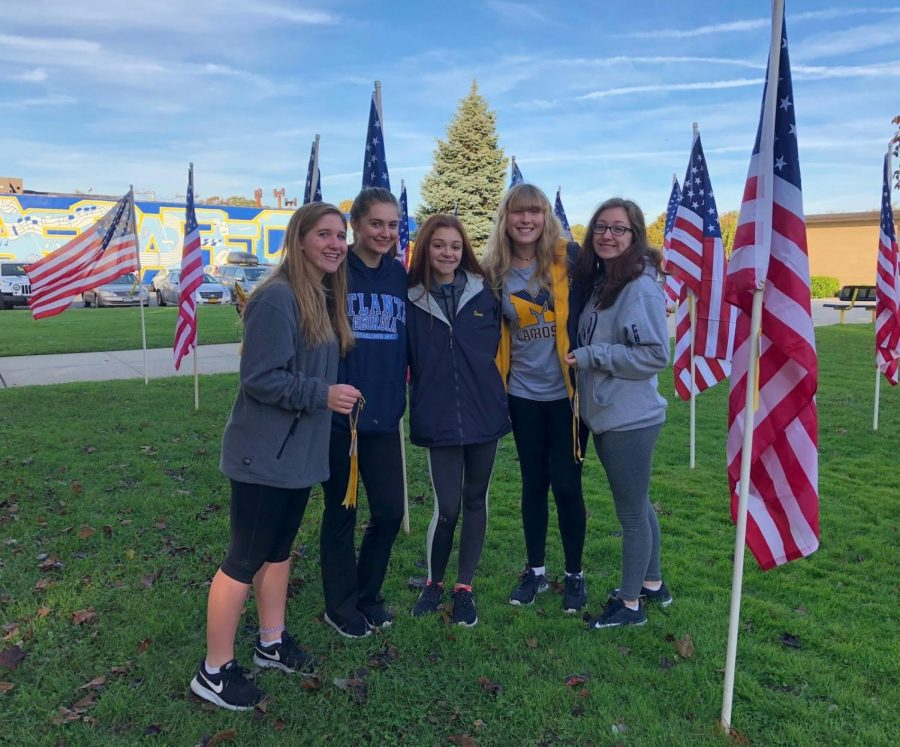 Flags fly for field of honor