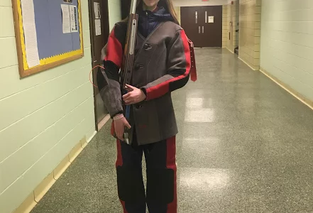 Winter sports spotlight article: ricocheting rifle season